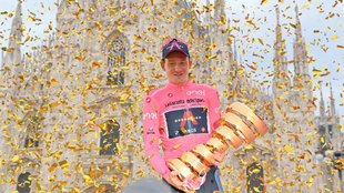 ¡Tao gana el Giro de Italia!