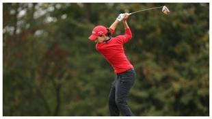 Carlota Ciganda, durante el PGA.