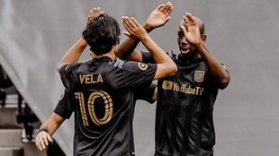 Con LAFC en la MLS.