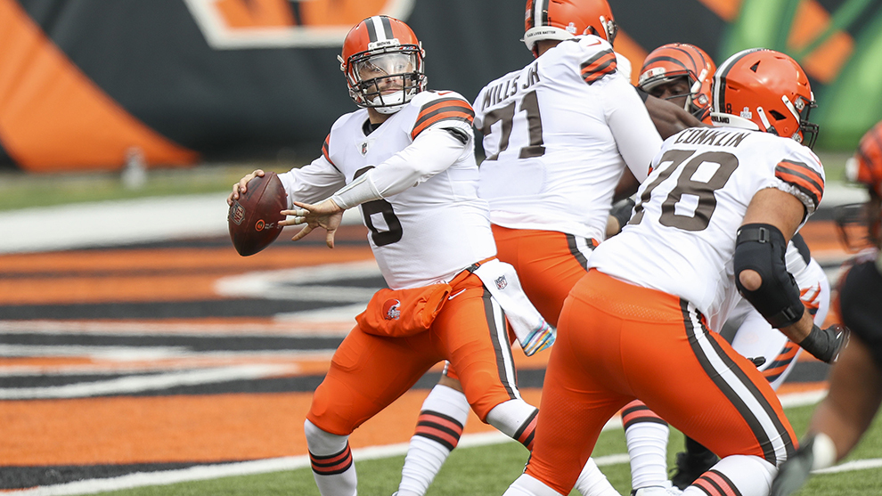 Mayfield comandó dramática victoria de Cleveland sobre Bengals — NFL