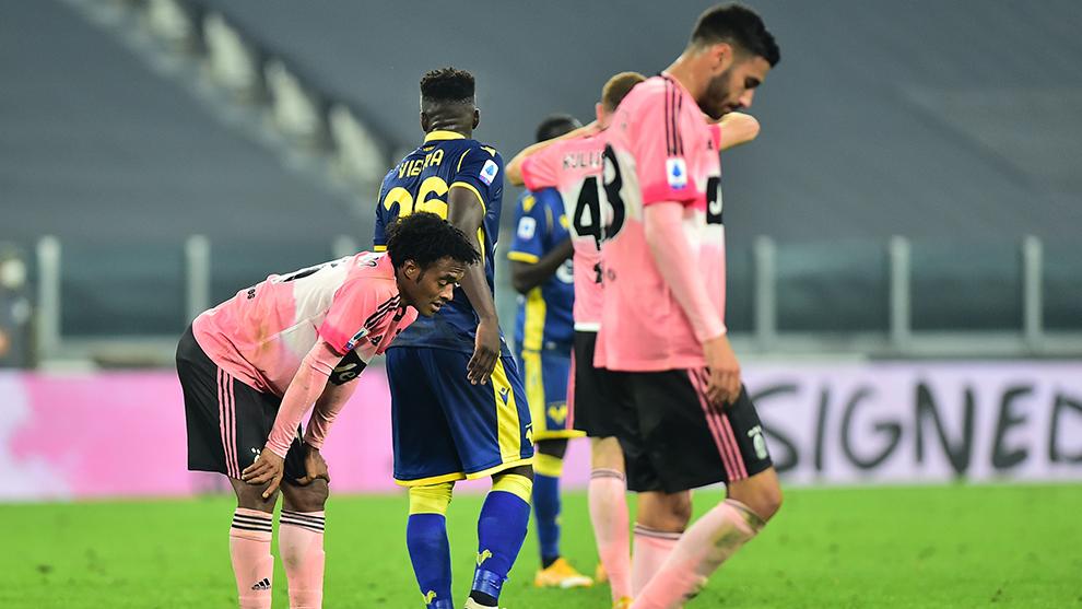 La Juve no pudo vencer al Hellas.