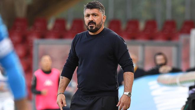 Gennaro Gattuso espera más determinación de Hirving Lozano con el Napoli