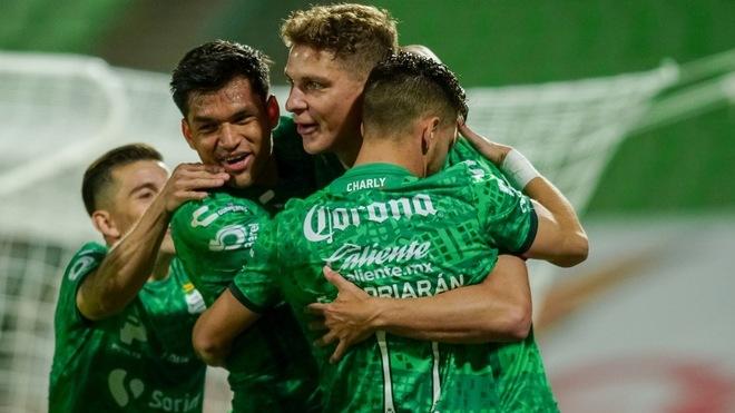Santos acumula su sexta victoria en el Apertura 2020.