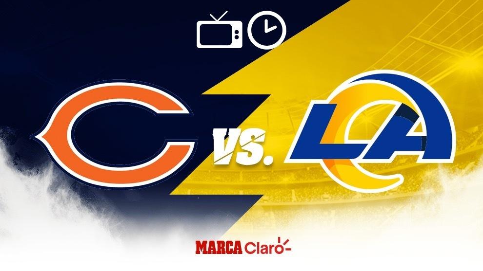 Bears vs Rams: en vivo por TV la NFL