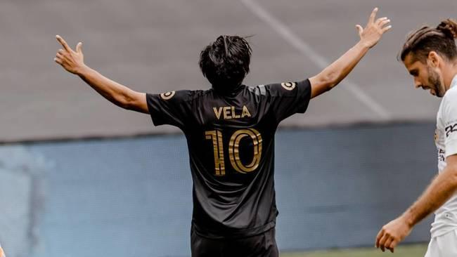 Carlos Vela ilusiona al LAFC