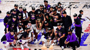 Los Angeles Lakers, campeones de la temporada 2019-2020