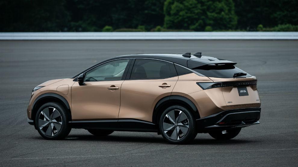 El Nissan Ariya, un crossover coupé eléctrico con hasta 500 kilómetros de autonomía.