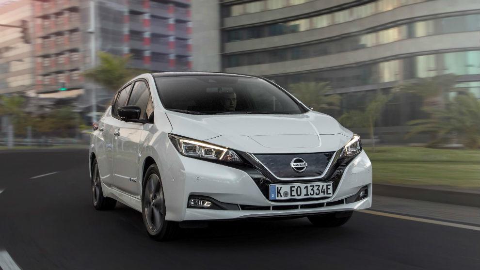 Un Nissan Leaf con más de 300 kilómetros de autonomía.
