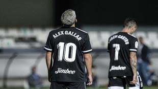 Álex Gallar, en un partido con el Cartagena.