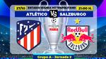 Atlético de Madrid - Salzburgo: horario y dónde ver en TV el partido de la jornada 2 de Liga de Campeones