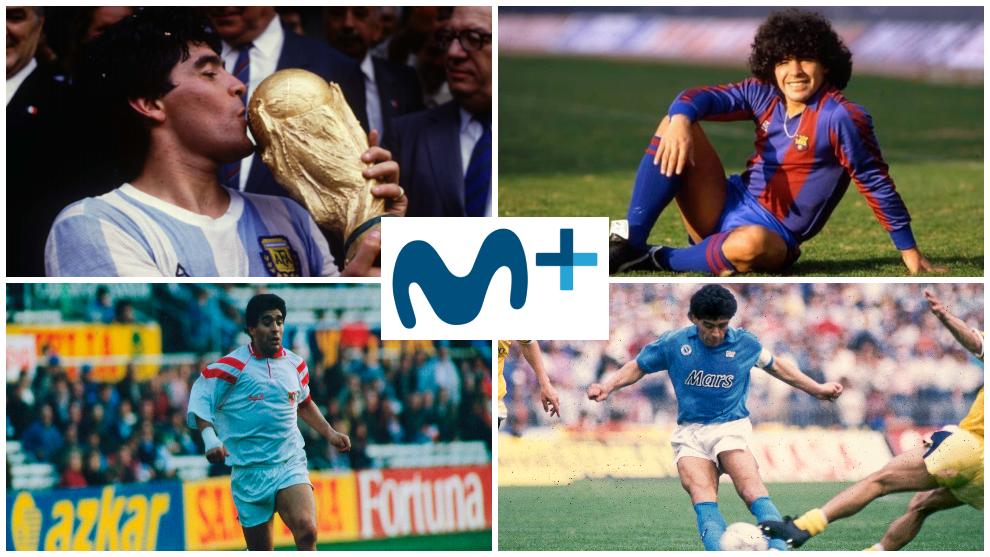La semana de Maradona llega a Movistar+