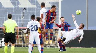 Sergio Ramos | Barcelona vs Real Madrid | El Clasico.