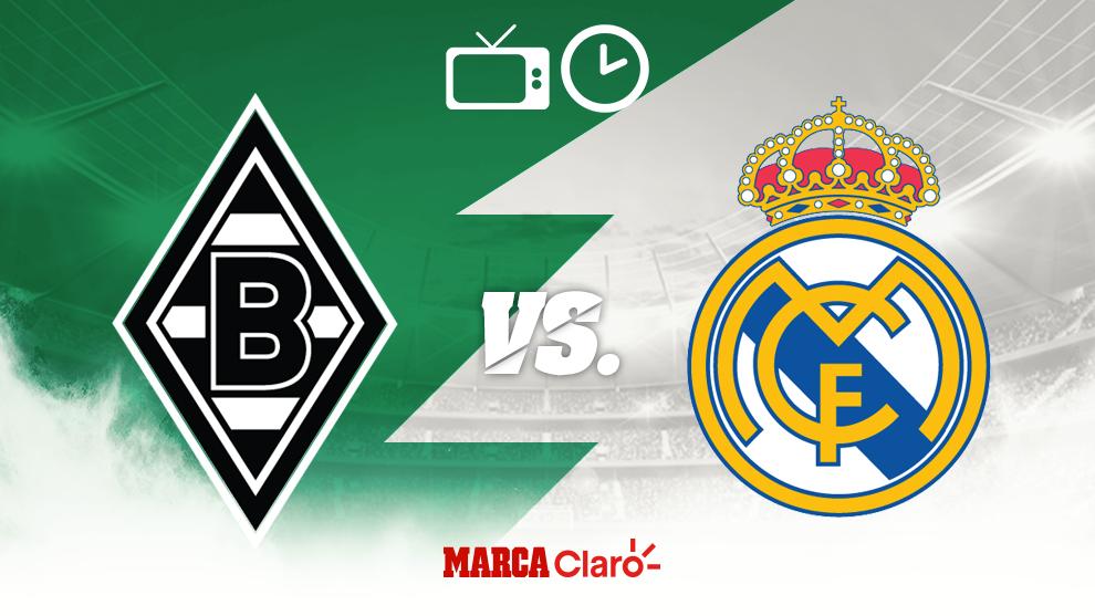 ¿Cómo, cuándo y dónde ver el Borussia Mönchengladbach vs Real...