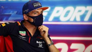 Verstappen, el pasado jueves en el circuito de Portimao