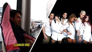 Checo Pérez confiesa su gusto por RBD.