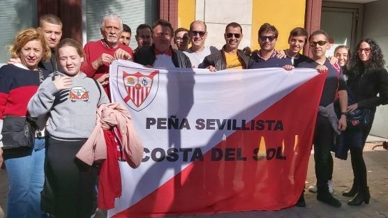 """Julián Chacón, presidente PS Costa del Sol: """"Para mí, traer un rinconcito del Sánchez Pizjuán a Málaga, es lo más grande"""""""