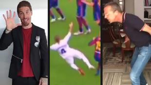 """Zasca de Ramos a Cristóbal Soria por su crítica musical del penalti del Clásico: """"¡De mis pechosss!"""""""