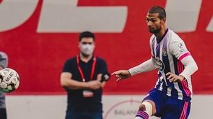 Sergio Fernández durante un partido.