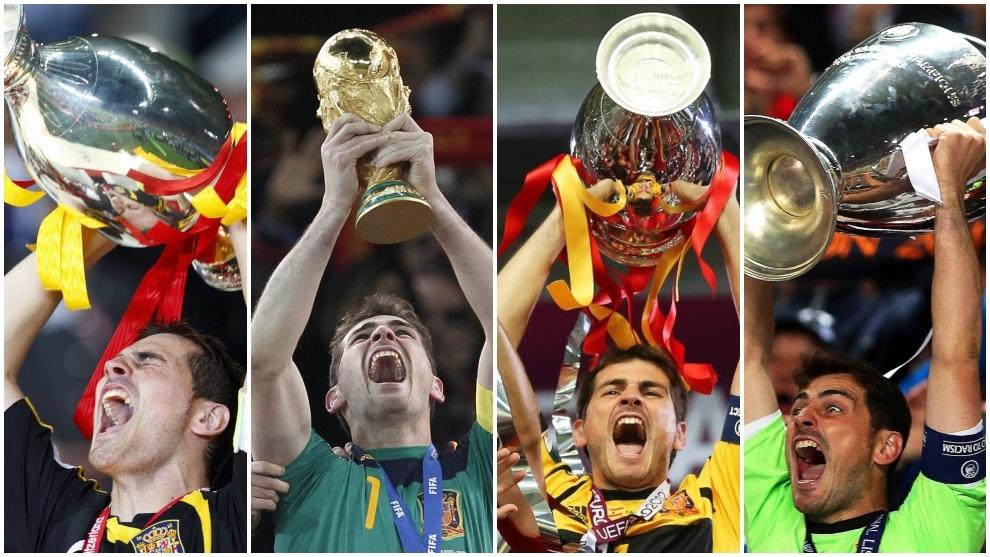 Iker Casillas, el favorito para ser nombrado mejor portero de la historia en el 'Balón de Oro Dream Team' de France Football