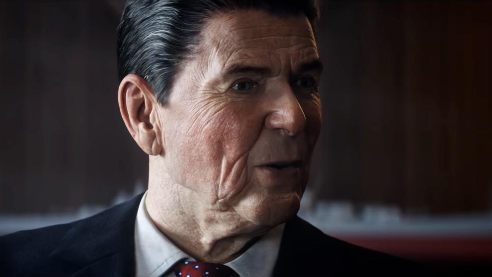 Ronald Reagan forma parte de la historia de Black Ops Cold War