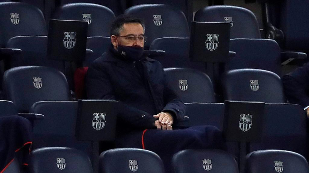 I've never considered resigning — Barcelona president Bartomeu