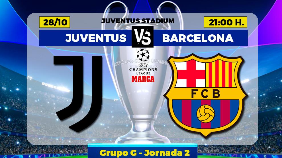 sátira noche imitar  Champions League: Juventus - Barcelona: horario y dónde ver hoy en TV el  partido de Champions | Marca.com
