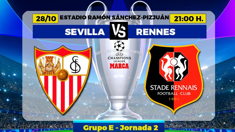 Sevilla - Rennes: horario, canal y donde ver hoy en TV el partido de...