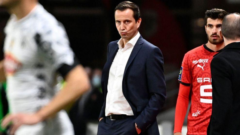 Julien Stéphan (40), entrenador del Rennes.