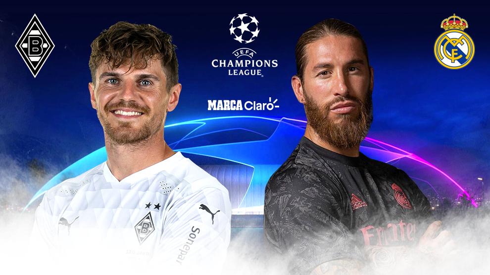 Marcador Final Borussia Monchengladbach Vs Real Madrid Resumen Goles Y Resultado Del Partido De La Champions League 2020 Marca Claro Mexico