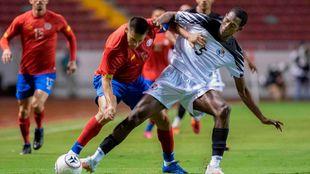 Imagen del cruce entre Costa Rica y Panamá, próximo y último rival...