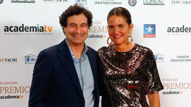 Masterchef: Los cocineros Pepe Rodríguez y Samantha Vallejo-Nágera.