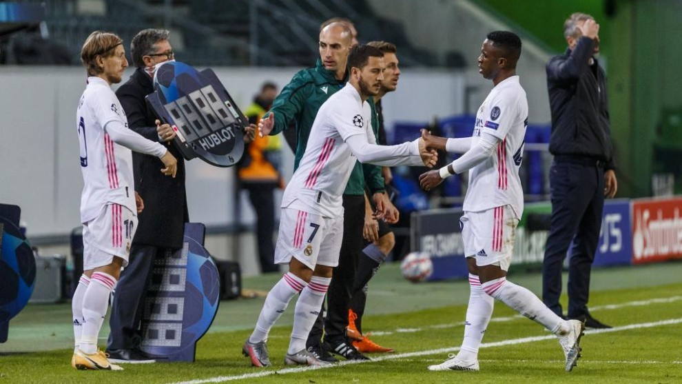 Mönchengladbach - Real Madrid | Champions: Notable debut de Hazard esta  temporada | Marca.com
