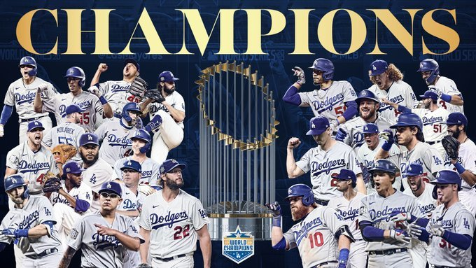 Los Angeles Dodgers ganan 4-2 las Series Mundiales de Béisbol a los...