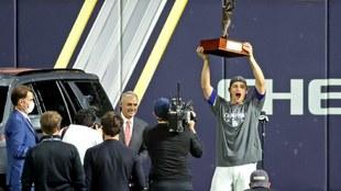 Corey Seager es nombrado como el MVP de la Serie Mundial