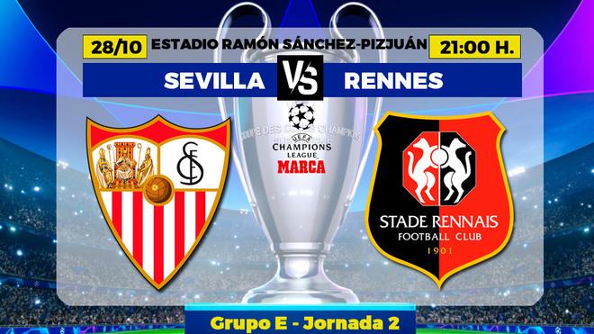 Sevilla vs Stade Rennes: Los hombres de Julen