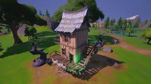 Las Cabañas de las Bruja,el nuevo desafío de Fortnite