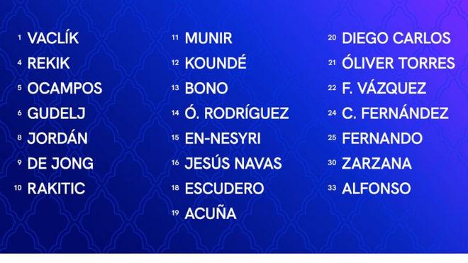 Koundé entra en la lista para la Champions