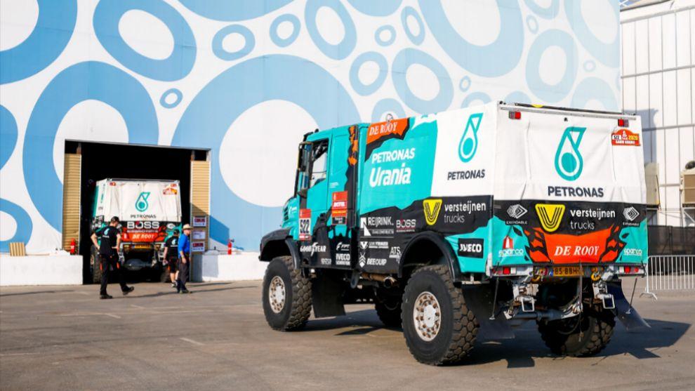 El campamento del Dakar 2021 será una burbuja sanitaria.