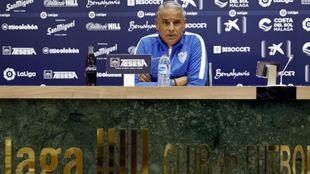 Sergio Pellicer durante una rueda de prensa