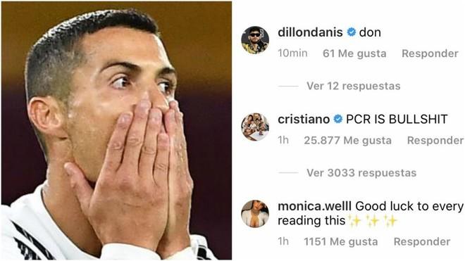 """La reacción de Cristiano al positivo que le impide jugar ante el Barcelona: """"Las PCR son una mierda"""""""