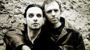 Martin Gore y Anton Corbijn.