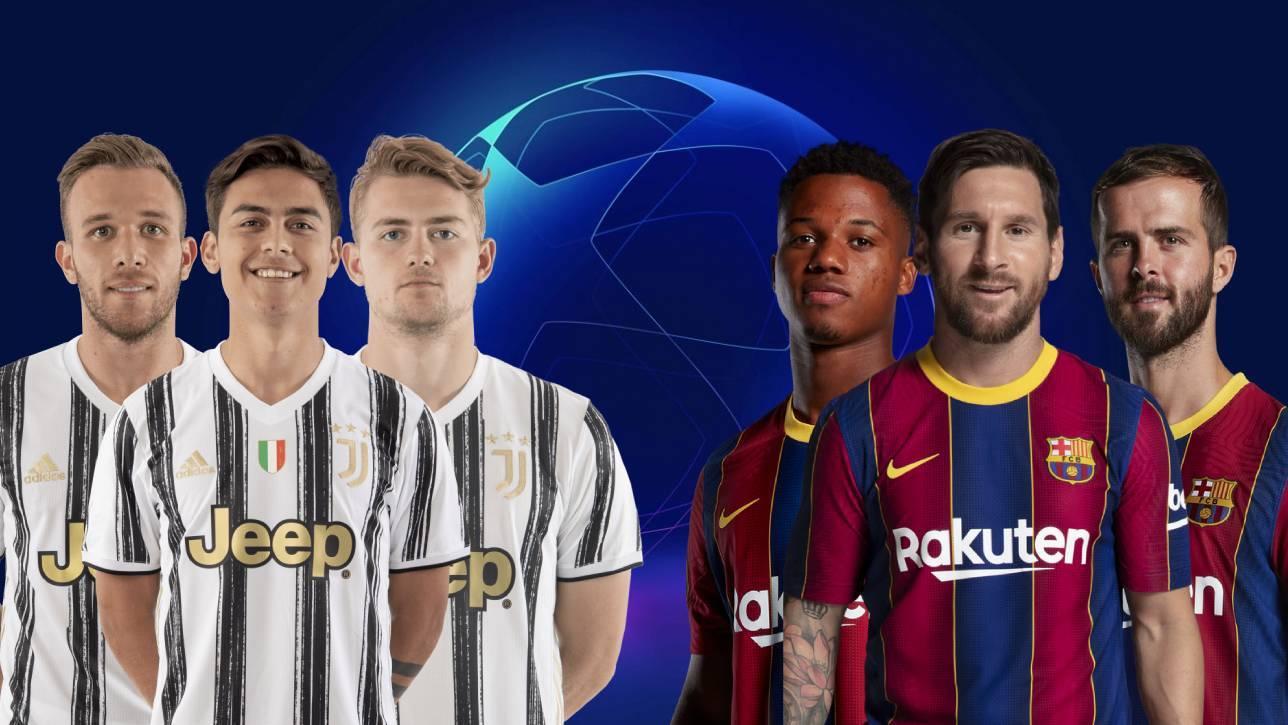 Juventus vs Barcelona, en directo: última hora, onces oficiales...