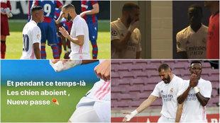 """Más críticas en la rajada de Benzema sobre Vinícius: """"No hace nada con sentido..."""""""