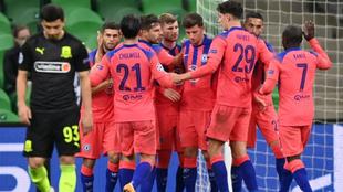 El Chelsea arrasó al Krasnodar en Champions League