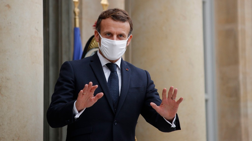 Macron, presidente de Francia