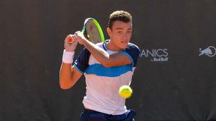 Carlos Jimeno, en el 'Any Tech365 Marbella Tennis Open...