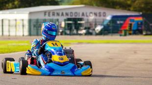 El nuevo kart del equipo de Alonso.
