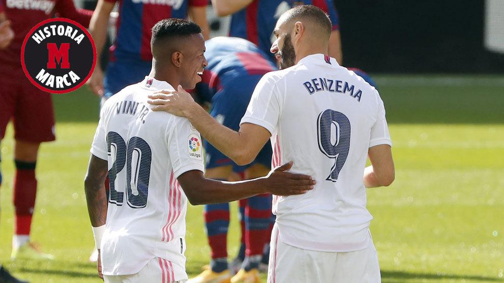 El calentón de Benzema: una charla que ya ha tenido antes con el propio Vinícius