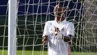 Vinicius Jr, delantero del Real Madrid, durante un partido de esta...