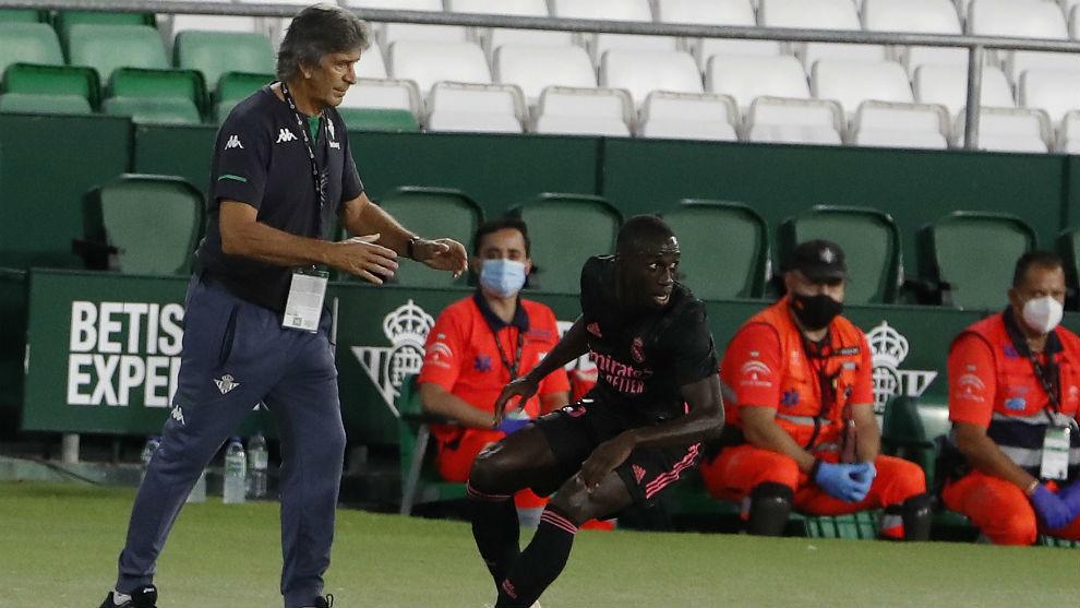 Pellegrini, en el partido ante el Real Madrid